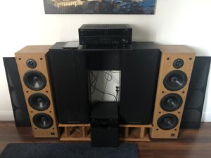 Infinity SL 50 vintage speakers for Sale in Miami, FL