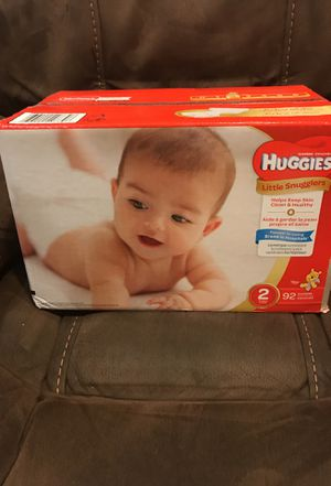 Size 2 Huggies Diaper for Sale in Gaithersburg, MD
