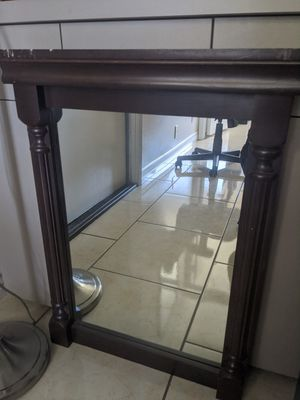 Brown mirror for Sale in Palmdale, CA