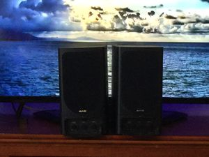 Auvio Wireless Powered Speakers - Not Bluetooth for Sale in Poinciana, FL
