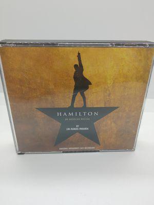 Hamilton [Original Broadway Cast Recording][Explicit][2CD] for Sale in Tampa, FL