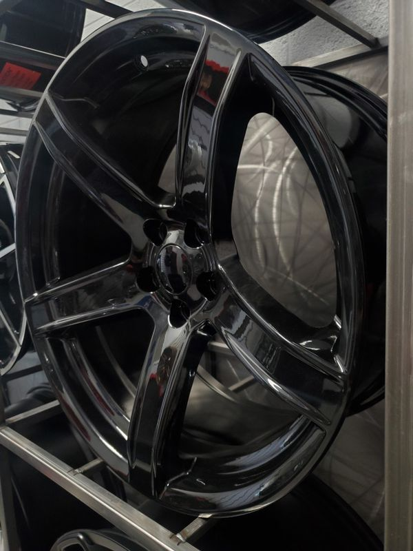 20x9.5 and 20x10.5 gloss black hellcat wheels for charger challenger magnum 5x115 rim wheel tire shop