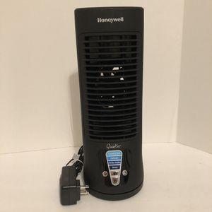 "Honeywell Quietset Slim Tower 13"" 4-Speed Fan - Black for Sale in Saint Petersburg, FL"
