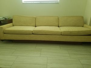 """96""""mid century sofa for Sale in Palm Bay, FL"""
