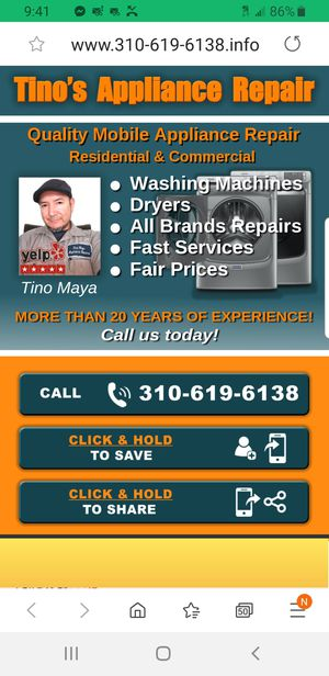 Washer Dryer Specialist for Sale in Torrance, CA