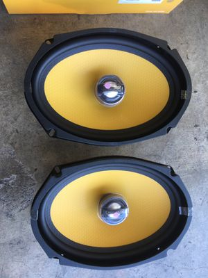 Jl audio c1-690x speakers 6x9 inch coaxial 200 watts RMS for Sale in Los Angeles, CA
