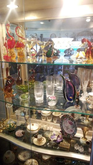 High quality glass front display, full treasures for Sale in Vista, CA