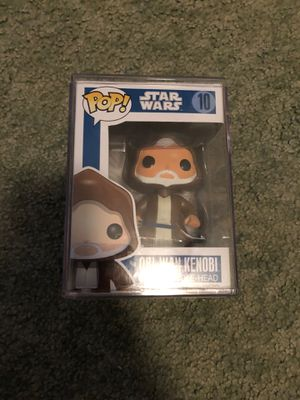 Funko pop Obi Wan Kenobi blue box looking to trade for other grails for Sale in Lock Haven, PA