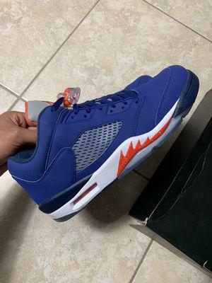 Jordan 5 Knicks size 11 Og everything $170 for Sale in Lauderhill, FL