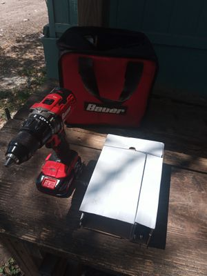 Bauer Dril 1/2 20volt. Whit charger. for Sale in Donna, TX