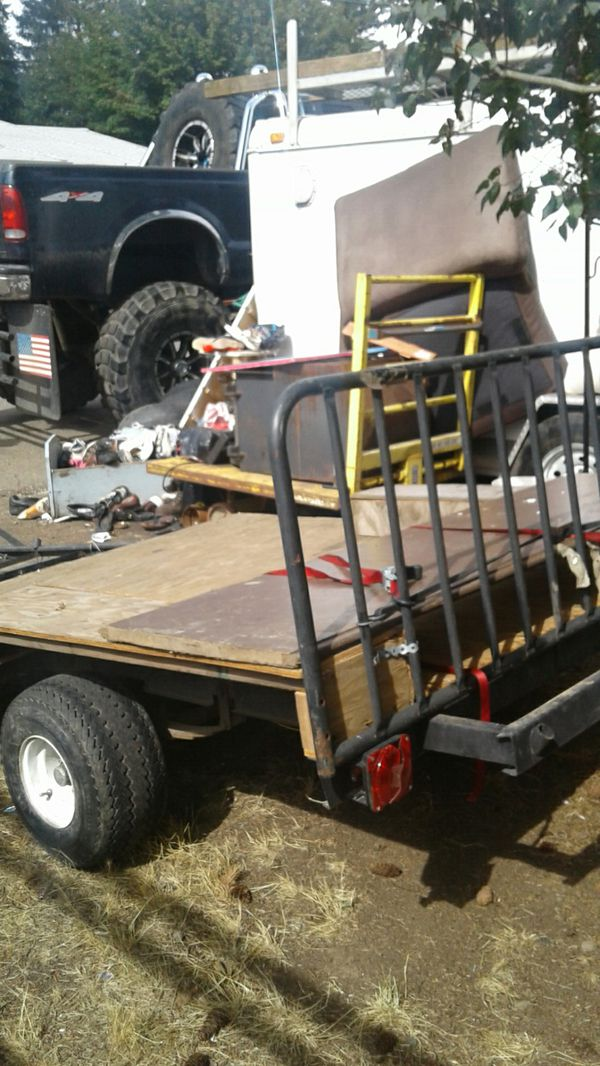 6×8 flat trailer