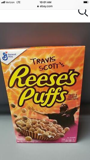 Travis Scott Cereal Reece's Puffs for Sale in Greenville, SC