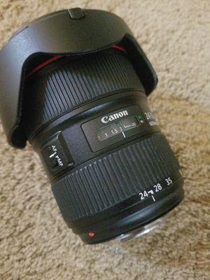 Canon EF 24-70mm f/2.8L II USM camera lense for Sale in Midlothian, VA