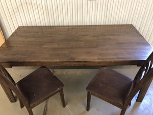 Wooden table for Sale in Hastings, NE