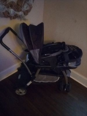 Double stroller and swing for Sale in Villa Rica, GA