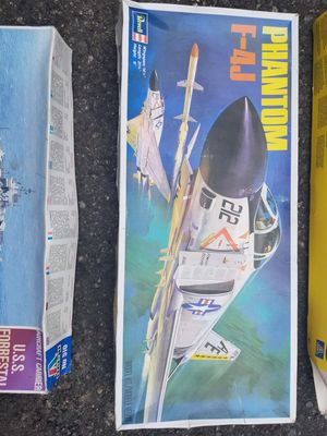Phantom F-4J,C-130 E/F Hercules Blue Angels,Space Shuttle Columbia and USS Forrestal Battleship Models for Sale in Tacoma, WA