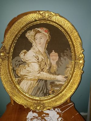 Household decor and Antique pictures with gold frame from Europe for Sale in Waterbury, CT