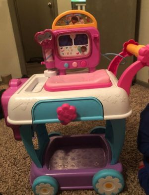 Doc McStuffins Vet cart and Pull away Van for Sale in Attleboro, MA