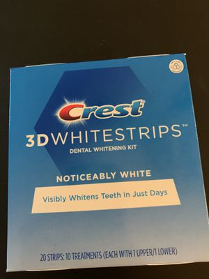 Crest 3D white strips for Sale in Tampa, FL