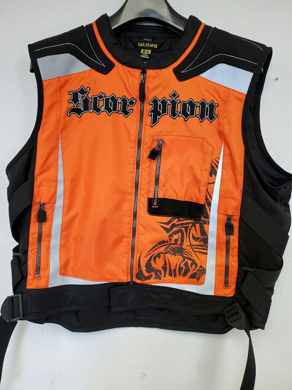 Motorcycle Vest - High Visibility