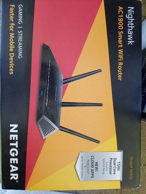 NETGEAR AC1900 Nighthawk smart wifi for Sale in Lake Elsinore, CA