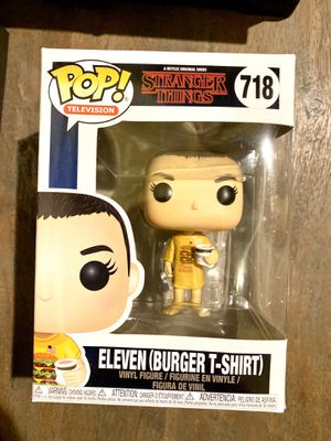 FUNKO POP ELEVEN (Burger T-shirt) - Stranger Things for Sale in Chicago, IL
