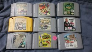 Nintendo n64 games for Sale in Fresno, CA