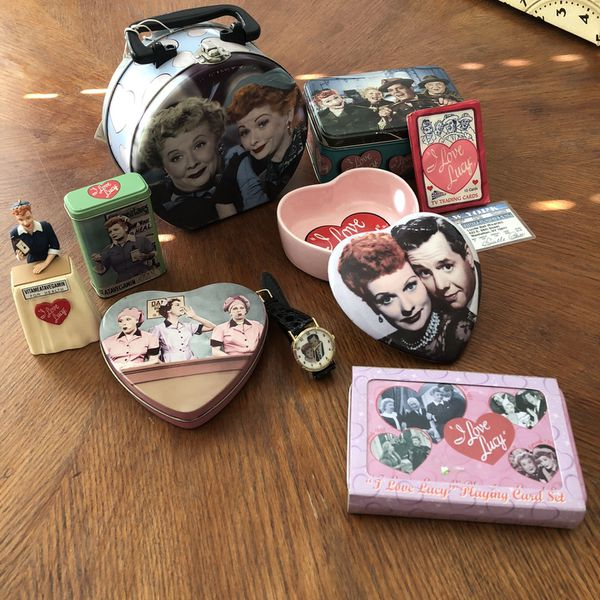 I love Lucy collectibles. Miscellaneous items