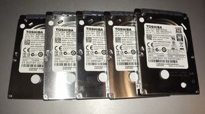 """Toshiba 320 GB 7200 RPM SATA 2.5"""" Lot of 5 for Sale in Sterling Heights, MI"""