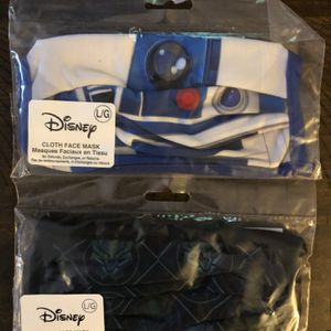 Disney Masks Size L Star Wars & Black Panther for Sale in Chicago, IL