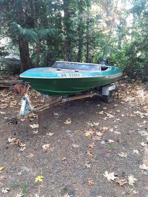 MARLIN SKI BOAT 80HP for Sale in Lakebay, WA