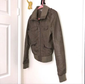 taupe faux leather jacket for Sale in Cerritos, CA
