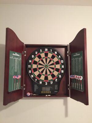 Cherry wood dartboard for Sale in Alexandria, VA