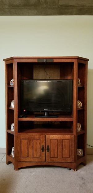 Tv Stand with TV included for Sale in Denver, CO
