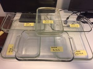 Multiple size Pyrex only for Sale in Knightdale, NC
