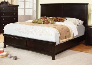 New Queen Hardwood Bed Frame in Espresso Finish & Plush Mattress Set 🔴 Price Firm for Sale in Los Angeles, CA