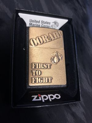 Genuine USMC Zippo lighter for Sale in San Clemente, CA