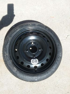 Spare Tire, never used. 4 lugs. for Sale in Corona, CA