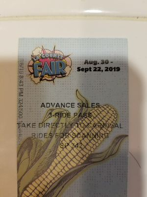 LA Fair 45 Ride Tickets for $20 for Sale in Hacienda Heights, CA