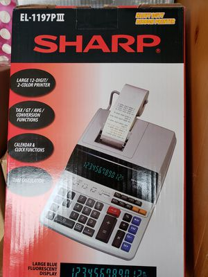 Sharp heavy duty ribbon printer for Sale in Los Angeles, CA