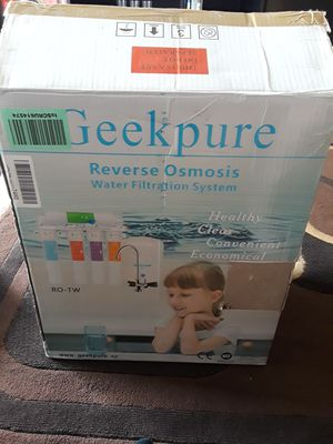 Greek pure reverse osmosis water filtration system for Sale in Santa Maria, CA