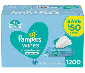 PAMPERS Wipes 1200 count for Sale in Buena Park, CA
