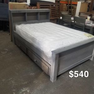 FULL BED FRAMW W/ TWIN TRUNDLE for Sale in Los Angeles, CA