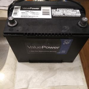 Group 24f Everstart Value Professional Line750ca for Sale in Windsor, CT