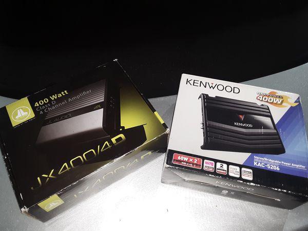 $110 JL Audio & $60 Kenwood
