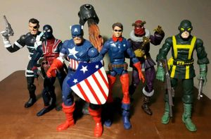 Captain America WW2 Action Figure Lot marvel comics toys for Sale in Marietta, GA