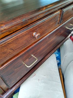 Wooden TV stand 40 L20 H 15 W with drawers for Sale in Alexandria, VA