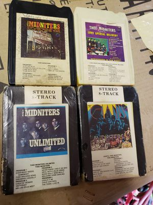 Thee Midniters Original 8 Track Cassettes for Sale in Sylmar, CA