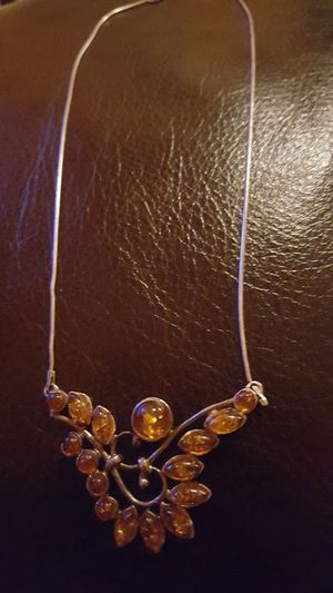 Gorgeous Baltic Amber necklace for Sale in Snellville, GA