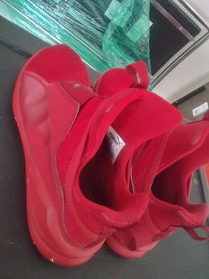 Free red puma shoes used. Size 6.5 for Sale in Atlanta, GA